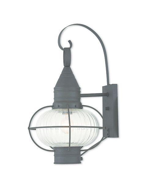 "Livex CLOSEOUT!   Newburyport 1-Light 20.75"" Wall Lantern"