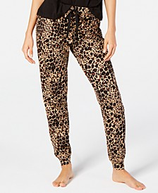 Printed Sleep Cheetah Print Jogger Pant, Created for Macy's