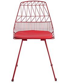 Vivi Wire Chair, Quick Ship (Set of 2)