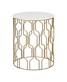 Giselle Side Table, Quick Ship