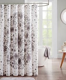 Intelligent Design Emma Printed Medallion Shower Curtain