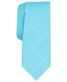 Original Penguin Men's Ferrell Grid Skinny Tie