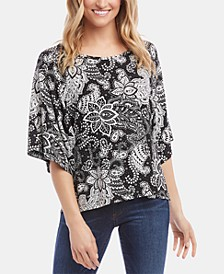 Modern-Sleeve Top