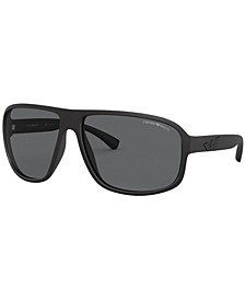 Polarized Sunglasses, EA4130 63