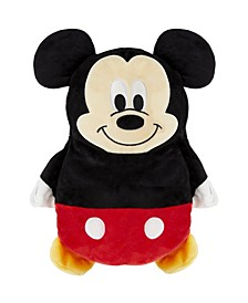 Toddler and Big Boys Disney Mickey Mouse 2-in-1 Stuffed Animal Hoodie