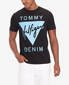 Tommy Hilfiger Denim Men's Angola Logo Graphic T-Shirt