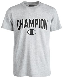 Champion Big Boys Varsity Logo-Print T-Shirt