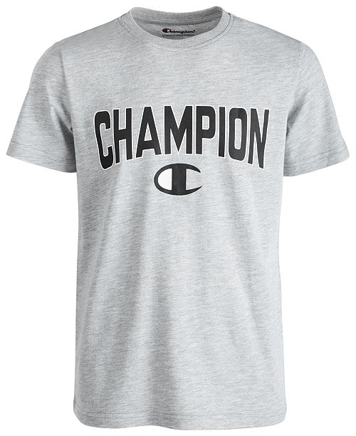 Champion Toddler Boys Varsity Logo-Print T-Shirt