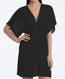 Jordan Taylor Gofret Dolman Sleeve Tunic Cover Up