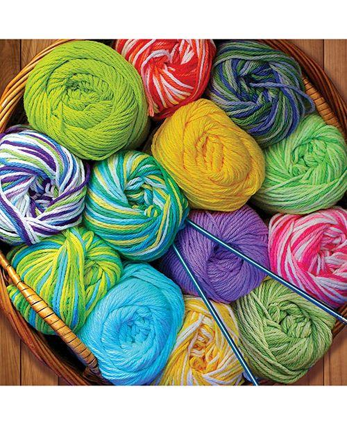 Springbok Puzzles Colorful Yarn 500 Piece Jigsaw Puzzle