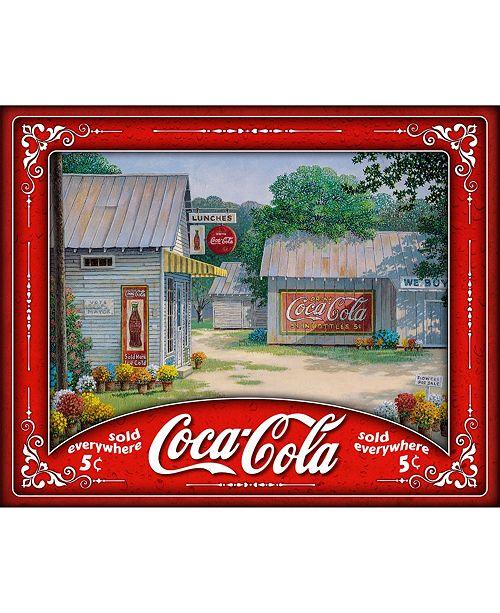 Springbok Puzzle Springtime Serenity Coca Cola Jigsaw Puzzle 500 Piece Jigsaw Puzzle