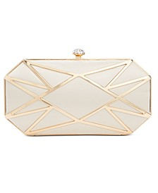 INC Alea Geometric Clutch, Created for Macy's