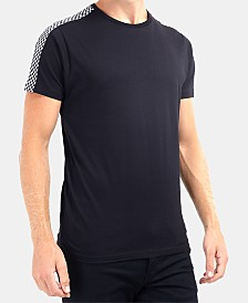 Men's Checkerboard Stripes T-Shirt