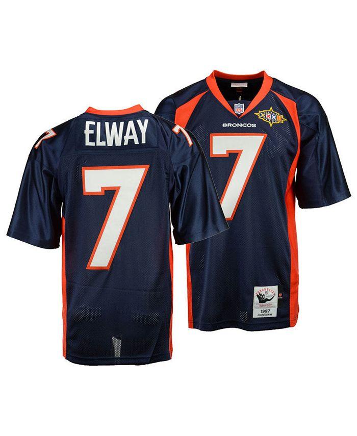 Mitchell & Ness Men's John Elway Denver Broncos Authentic Football ...