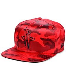 Houston Rockets Satin Camo 9FIFTY Cap
