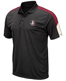 Men's Florida State Seminoles Color Block Polo