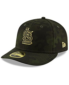 St. Louis Cardinals Armed Forces Day Low Profile 59FIFTY Fitted Cap