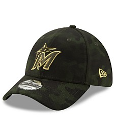 New Era Miami Marlins Armed Forces Day 39THIRTY Cap