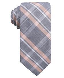 Ryan Seacrest Distinction™ Men's Bancroft Slim Plaid Tie, Created for Macy's