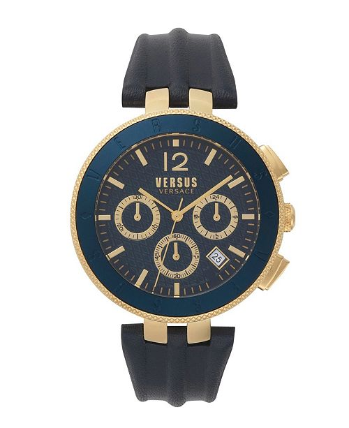 Versus by Versace Versus Men's Blue Strap Watch 22mm