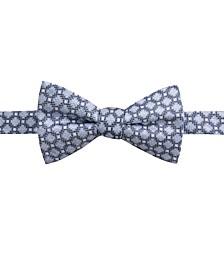 Men's Bona Pre-Tied Neat Jaspé Bow Tie, Created for Macy's