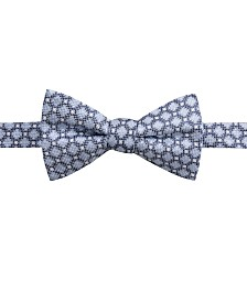 Ryan Seacrest Distinction™ Men's Bona Pre-Tied Neat Jaspé Bow Tie, Created for Macy's