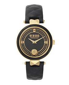 Versus Women's Black Strap Watch 18mm