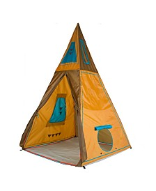Pacific Play Tents Giant Tee-Pee:   59 In (L) X 59 In(W) X 96 In (H)
