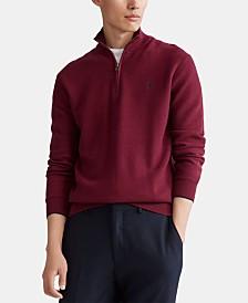 Polo Ralph Lauren Men's Textured Half-Zip Sweater
