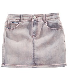 GUESS Big Girls Stretch Denim Skirt