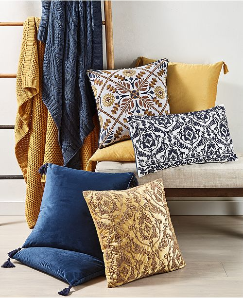 Lacourte Dolce Vita Decorative Pillow and Throw Collection