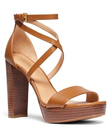 MICHAEL Michael Kors Charlize Platform Dress Sandals