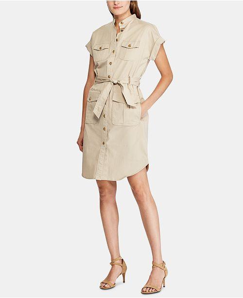 Lauren Ralph Lauren Petite Short-Sleeve Shirtdress