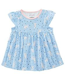 Toddler Girls Cotton Safari-Print Tunic, Created for Macy's