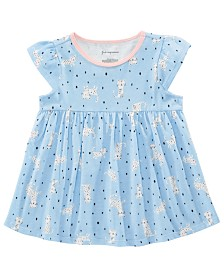 First Impressions Toddler Girls Cotton Safari-Print Tunic, Created for Macy's