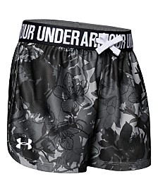 Under Armour Big Girls Play Up Printed Shorts