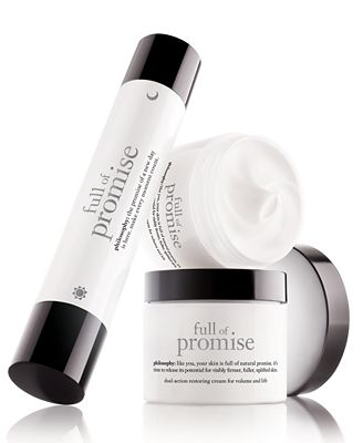 philosophy full of promise skincare collection