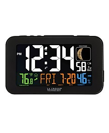 La Crosse Technology Color LED Alarm Clock with USB Charging Port