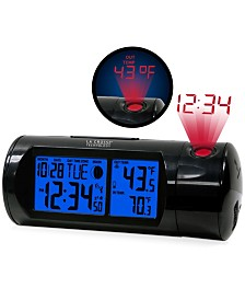 La Crosse Technology Atomic Projection Alarm clock with Indoor and Outdoor Temperature