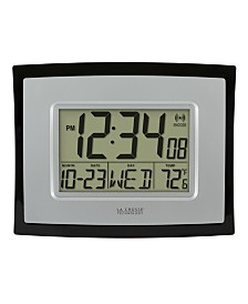 La Crosse Technology Digital Clock with Indoor Temperature