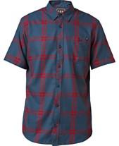 4e1120347 Fox Men s Brake Check Woven Shirt