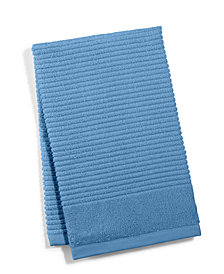 """Martha Stewart Collection 16"""" x 26"""" Quick Dry Reversible Hand Towel, Created for Macy's"""