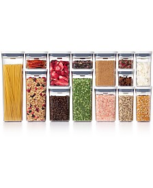 Pop 20-Pc. Food Storage Container Set