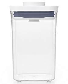 Pop Small Square Short Food Storage Container
