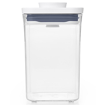OXO Pop Small Square Short Food Storage Container