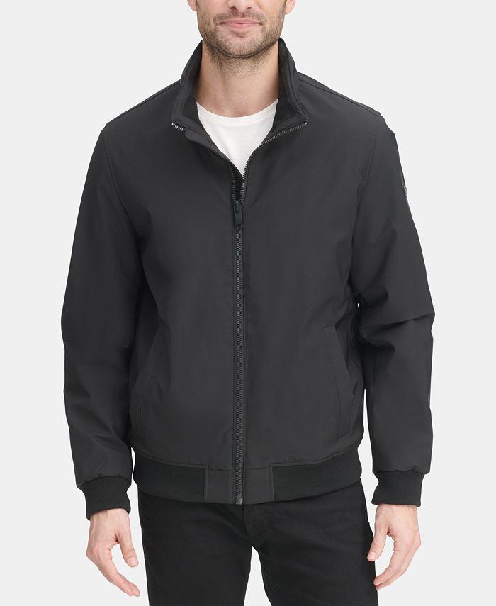DKNY - Men's All Man's Micro Fiber Bomber Jacket