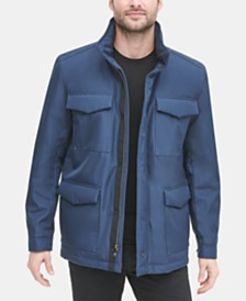 DKNY Men's 4-Pocket Utility Jacket