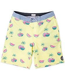 "Rip Curl Men's Watermelon Graphic 19"" Swim Trunks"