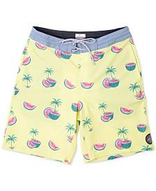 "Rip Curl Men's Watermelon Graphic 19"" Swim Trunks"