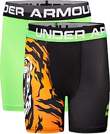 Big Boys 2-Pk. Tiger Boxerjocks
